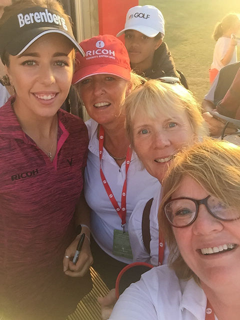 Longridge Golf Club at the Womens British Open