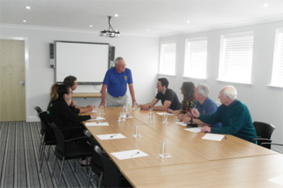 Longridge Golf Club Conference Room - Boardroom layout