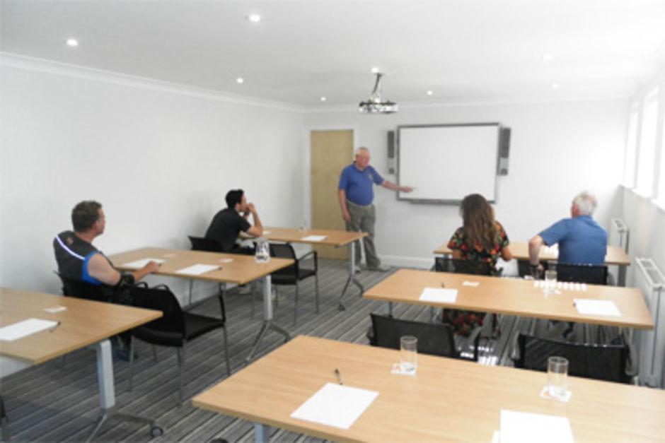 Longridge Golf Club Conference Room - Classroom layout