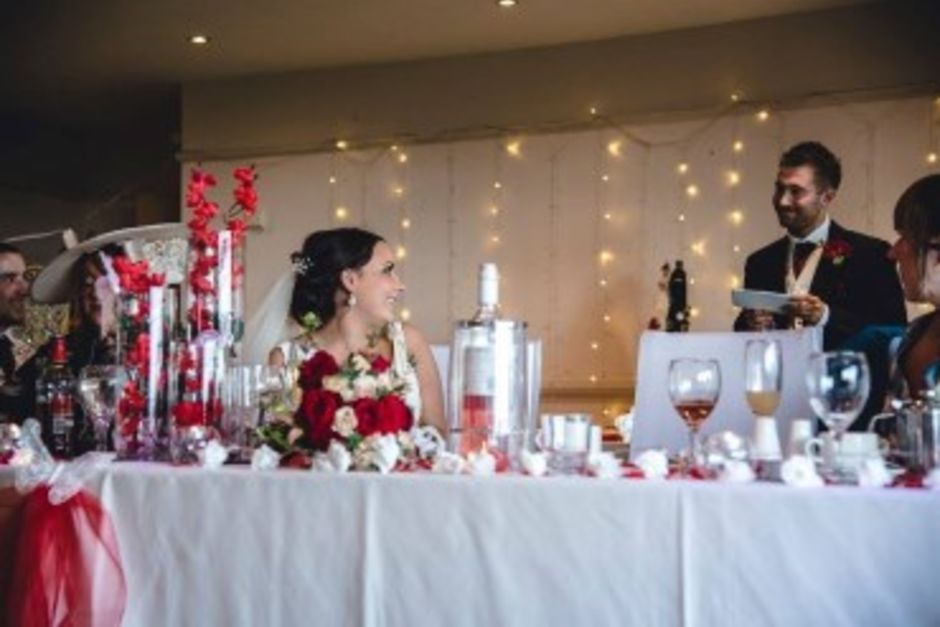 Wedding at Longridge Golf Club - Function Room