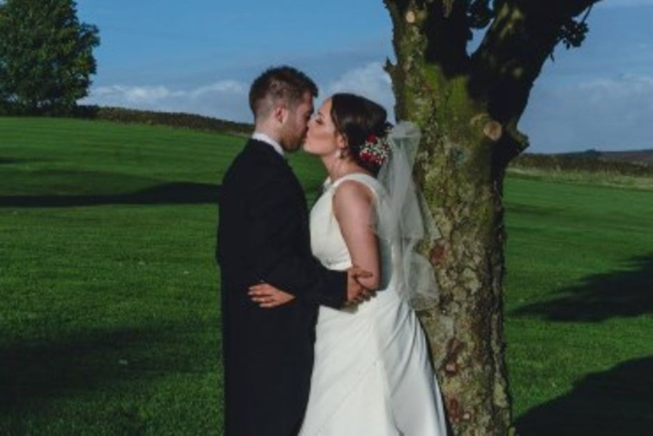 Wedding at Longridge Golf Club - Bride & Groom
